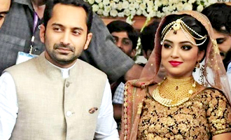 Nazriya and Fahadh celebrates their wedding anniversary
