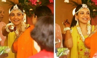 In pics: Actress Kajal Aggarwal's pre-wedding festivities