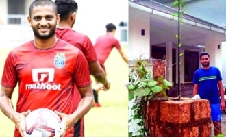 COVID-19: Kerala footballer offers his home for treatment