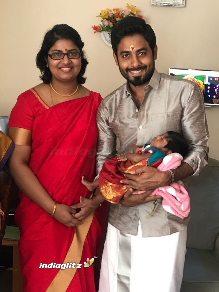 Actor Aari Daughter Naming Ceremony