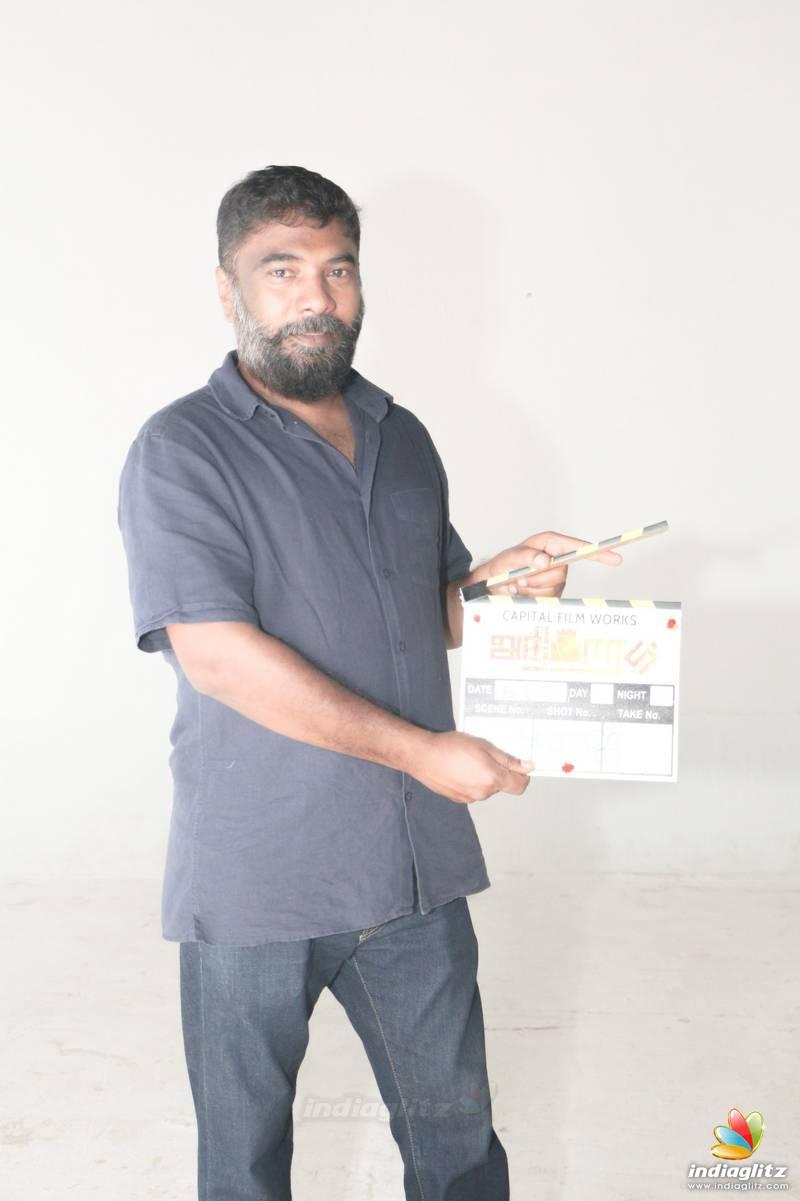 SP Charan's Web Series 'Adhigaram' Pooja