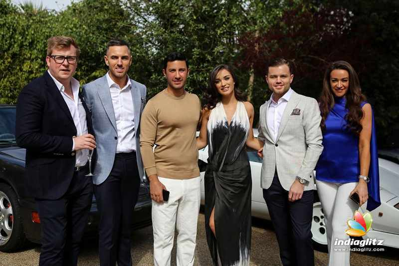 Amy Jackson - George Panayiotou  engagement party