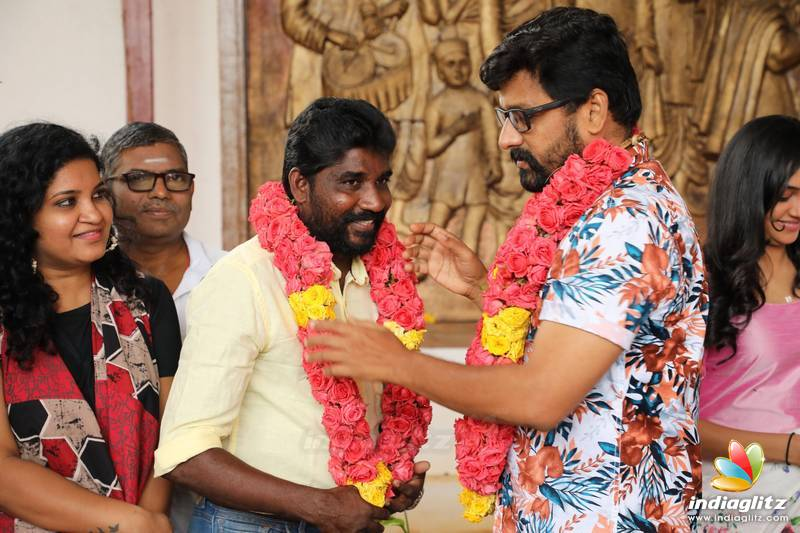 'Agni Natchathiram' Movie Pooja