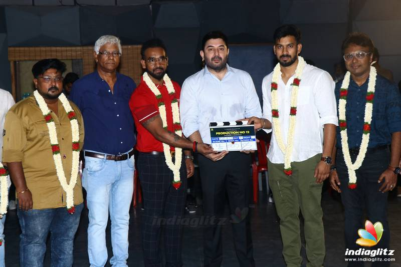 Arvindswamy's New Movie Pooja