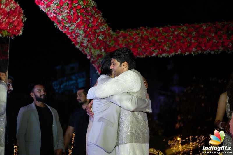 Arya & Sayyeshaa's Wedding