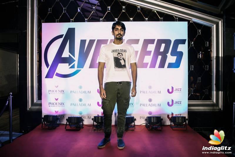 Celebs at 'Avengers - Endgame' Show