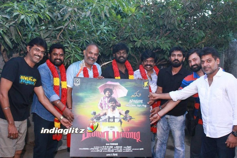 Venkat Prabhu Launches 'Billa Pandi' First Look