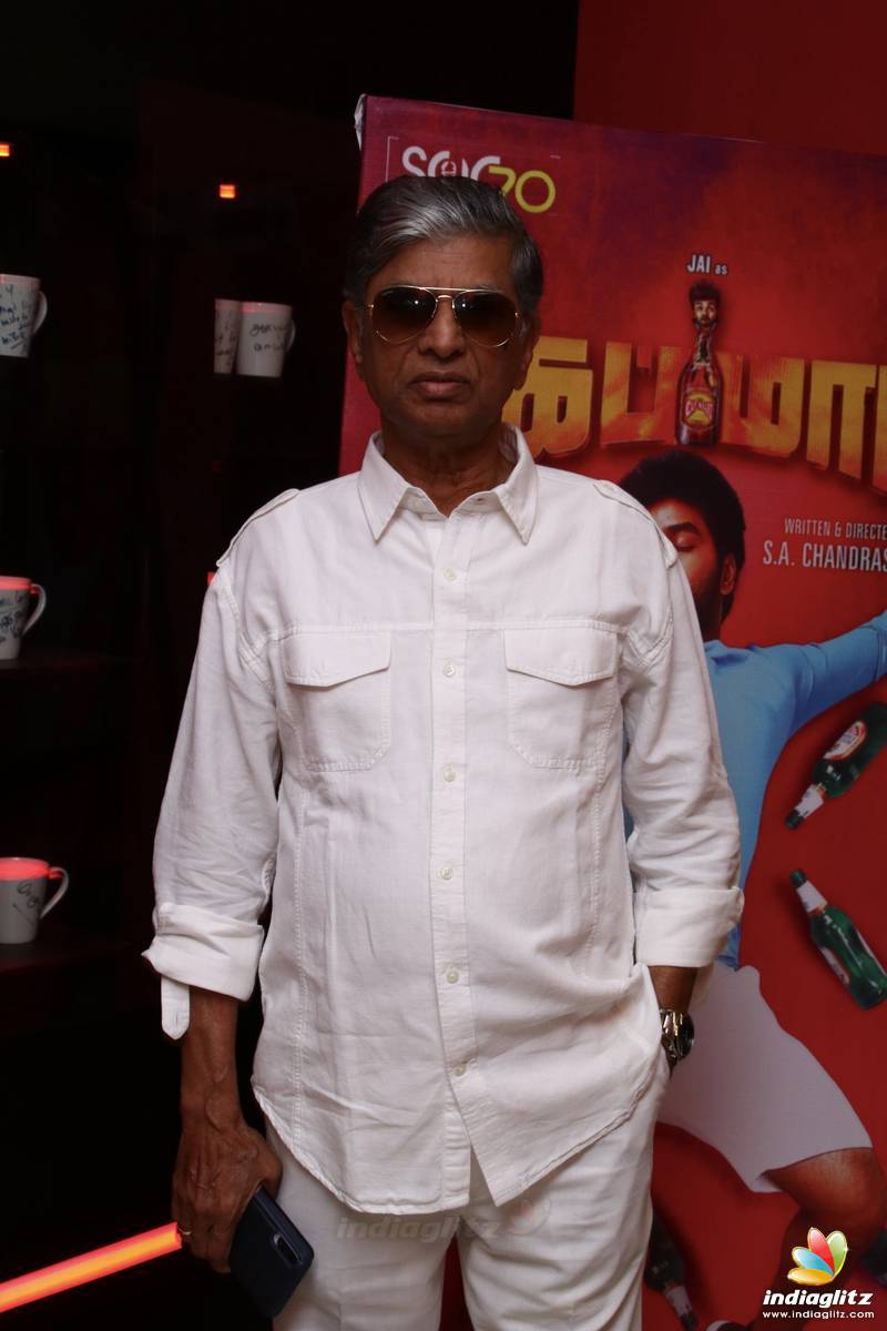 'Capmaari' Movie Press Meet