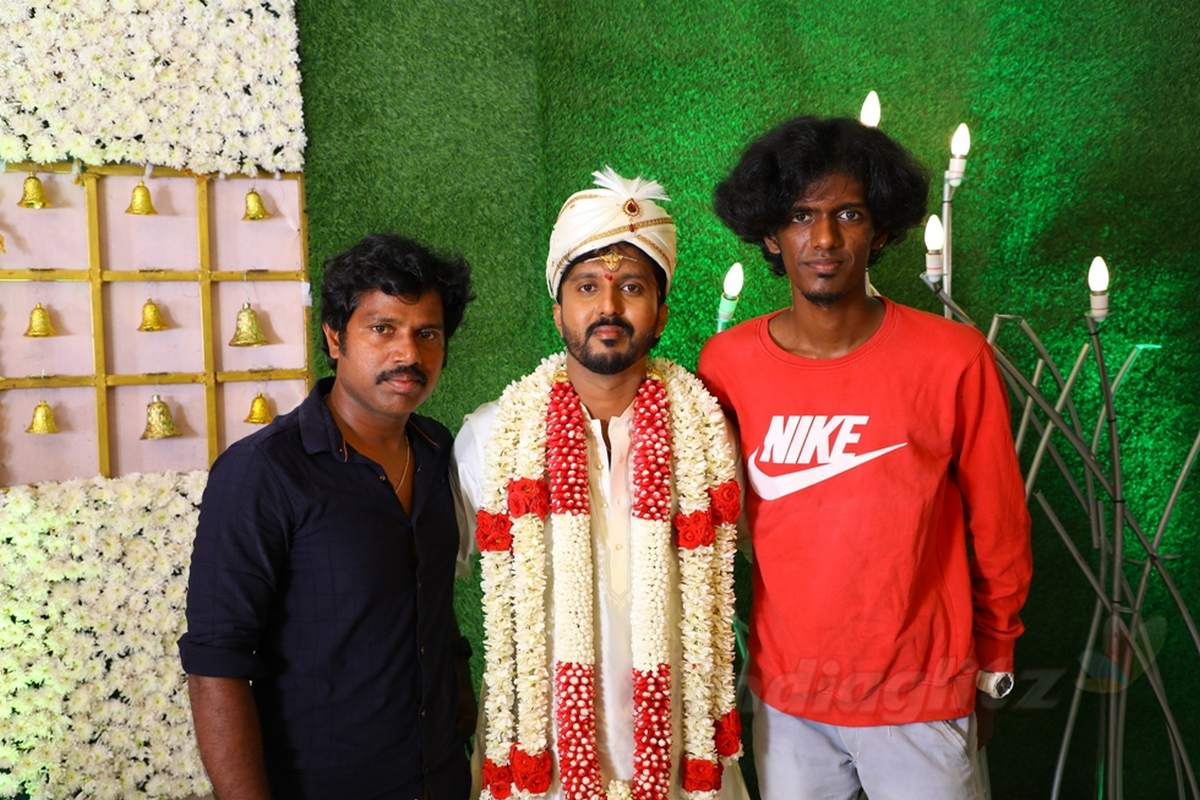 Director Chachi marriage - Sivakarthikeyan and Sathish attend