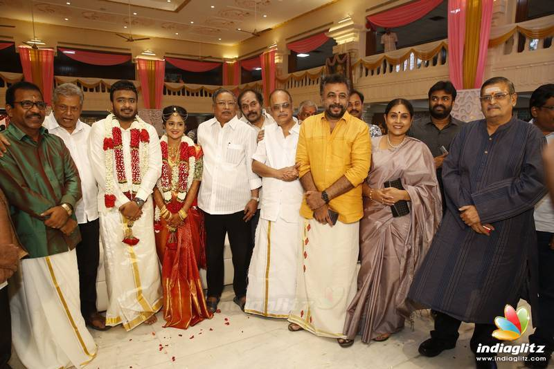 Actor Charlie Elder Son Adhithiya's Wedding