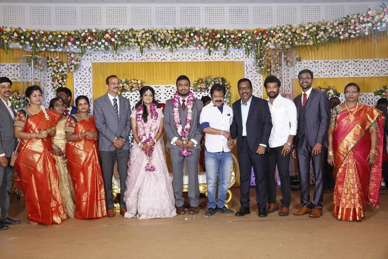 Actor Charlie Elder Son Adhithiya's Wedding Reception