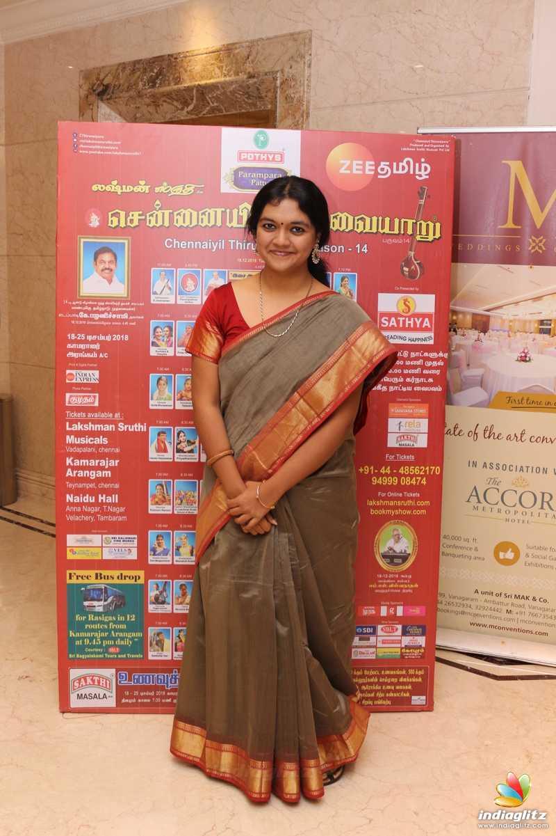 Chennaiyil Thiruvaiyaru Season 14 Press Meet