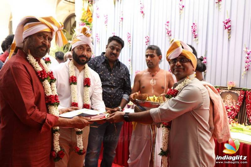 'Darbar' Movie Pooja