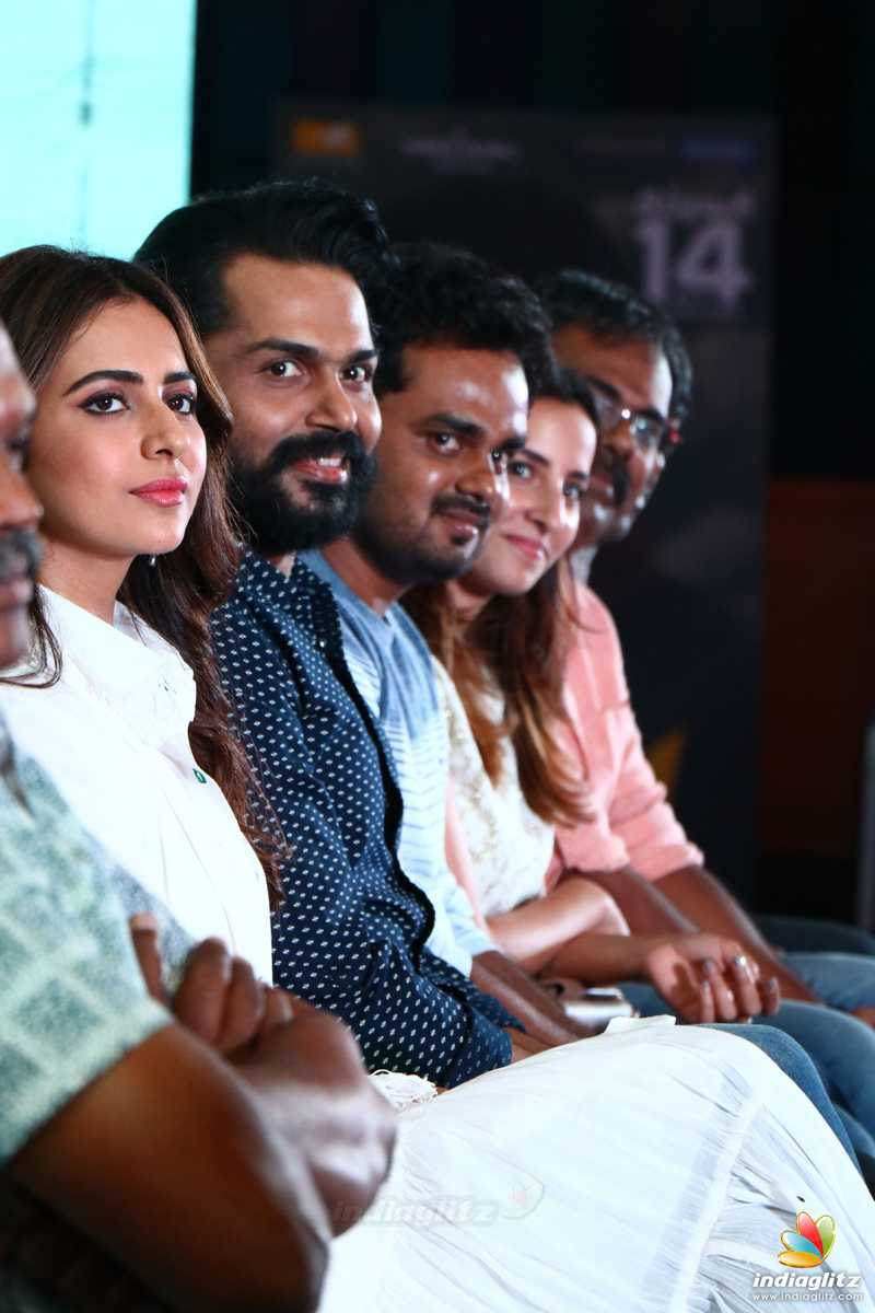 'Dev' Movie Press Meet