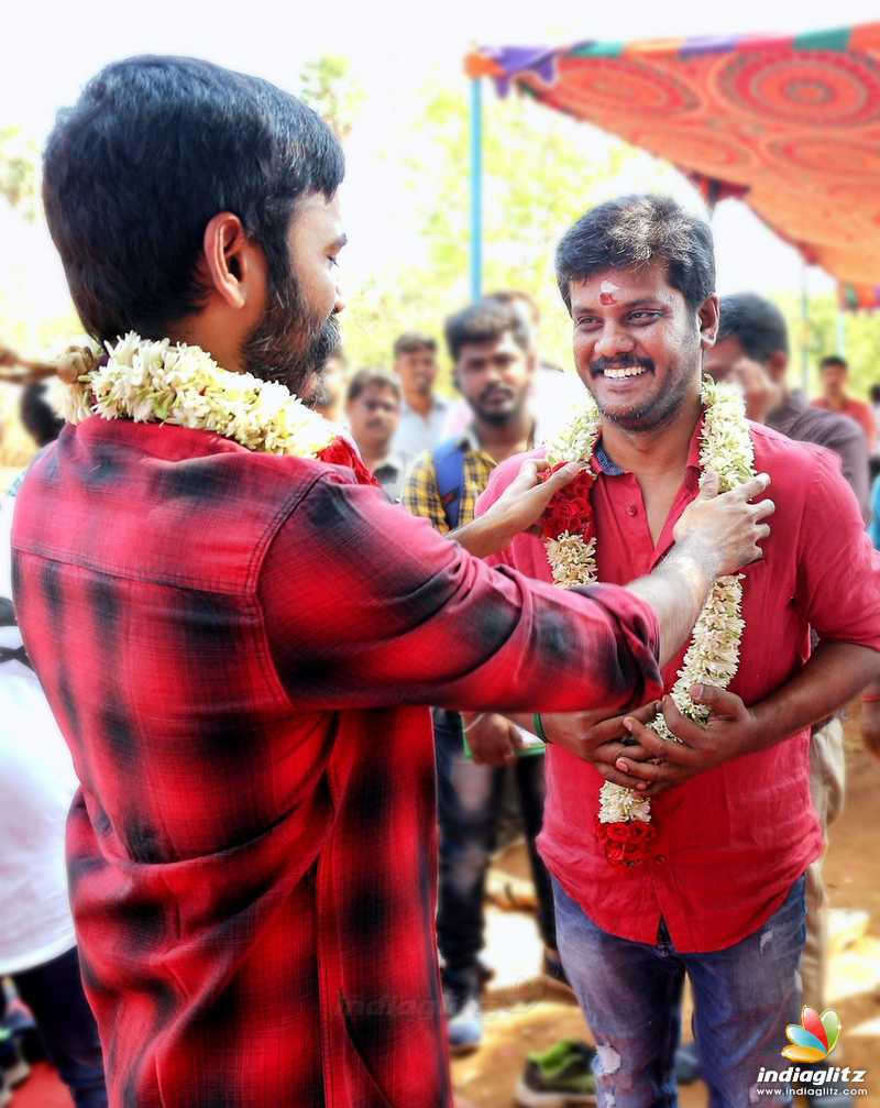 Dhanush's New Movie Pooja