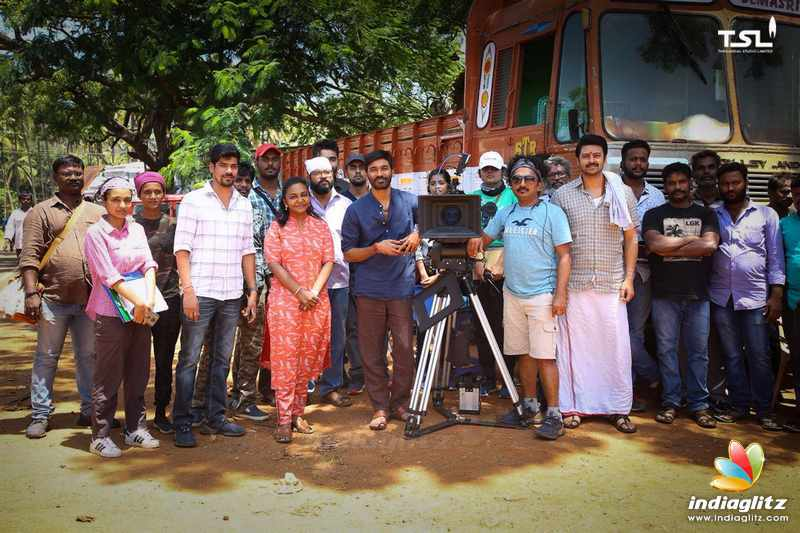 Dhanush second directorial multistar movie pooja