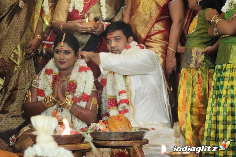 Fefsi Vijayan Master son's wedding reception