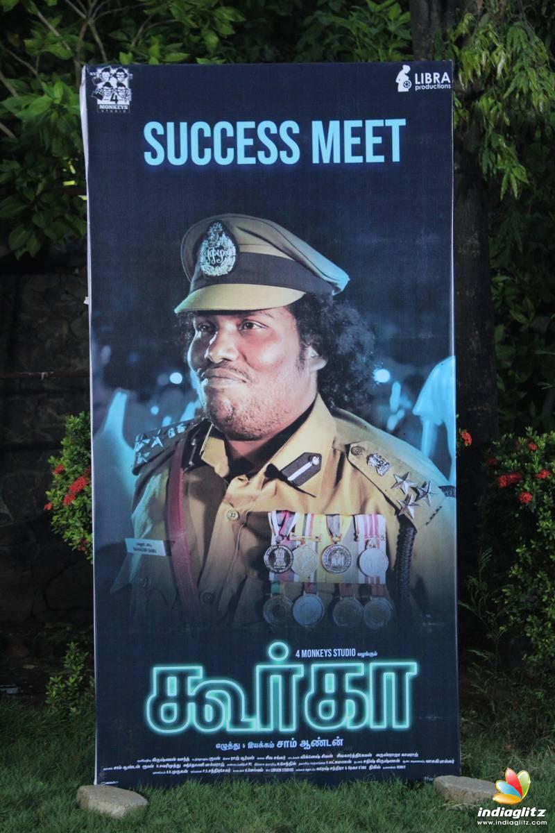 'Gurkha' Success Meet
