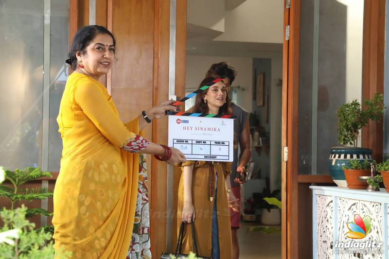 'Hey Sinamika' Movie Pooja