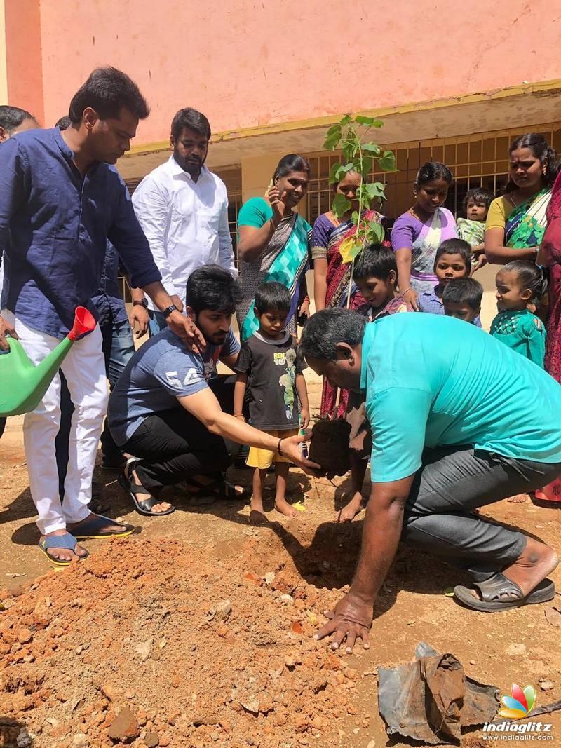 """Harish Kalyan's """"Go Green"""" social awareness"""