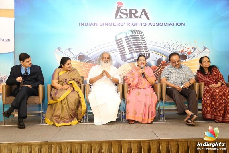 Indian Singers Rights Association Press Meet