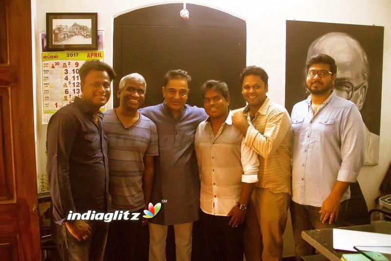 Kamal Haasan Launched 'Padaiveeran' Single Track