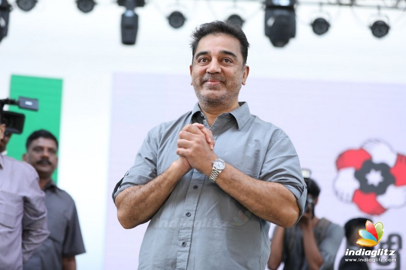 Kamal Haasan Addressing the Students at SSN College in Chennai