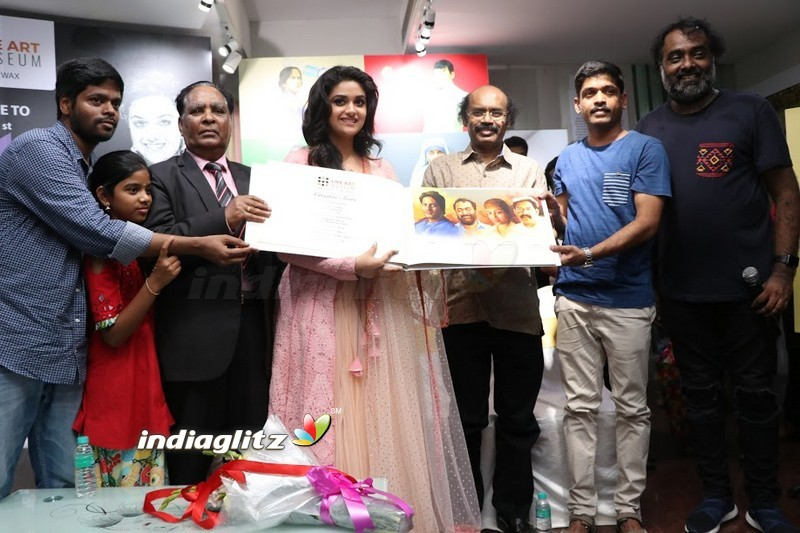 Keerthy Suresh Launch Silicon Live Art Museum