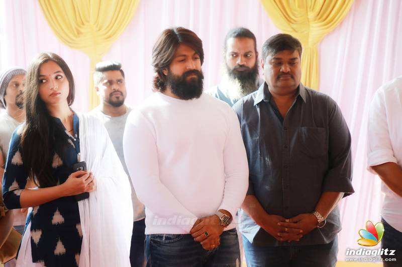 'KGF Chapter 2' Movie Pooja
