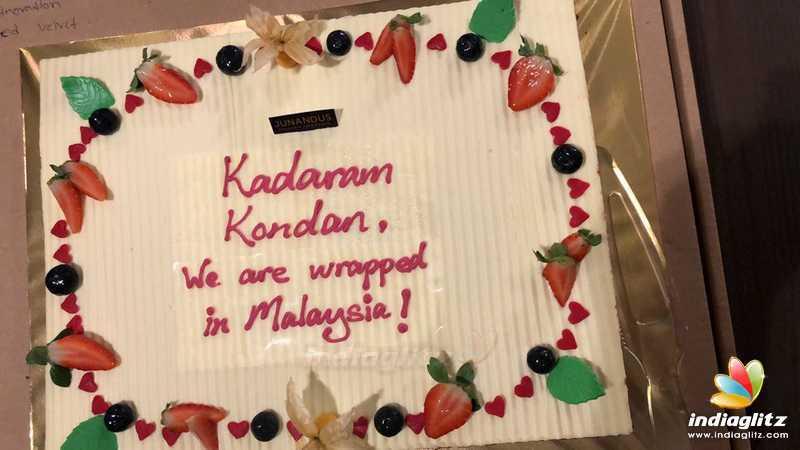 Vikram's 'Kadaram Kondan' Malaysia schedule wrapped up