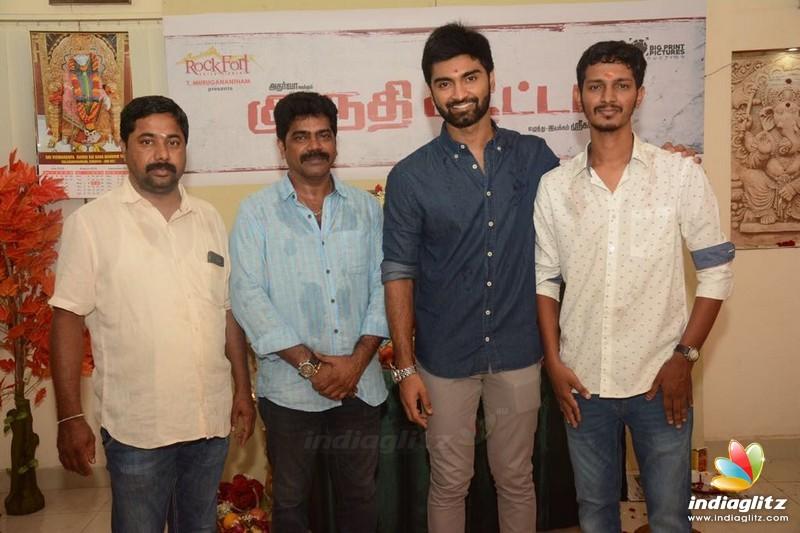 Atharva's 'Kurudhi Aatam' Movie Pooja