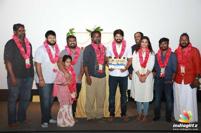 Arya's New Movie 'Magaamuni' Pooja