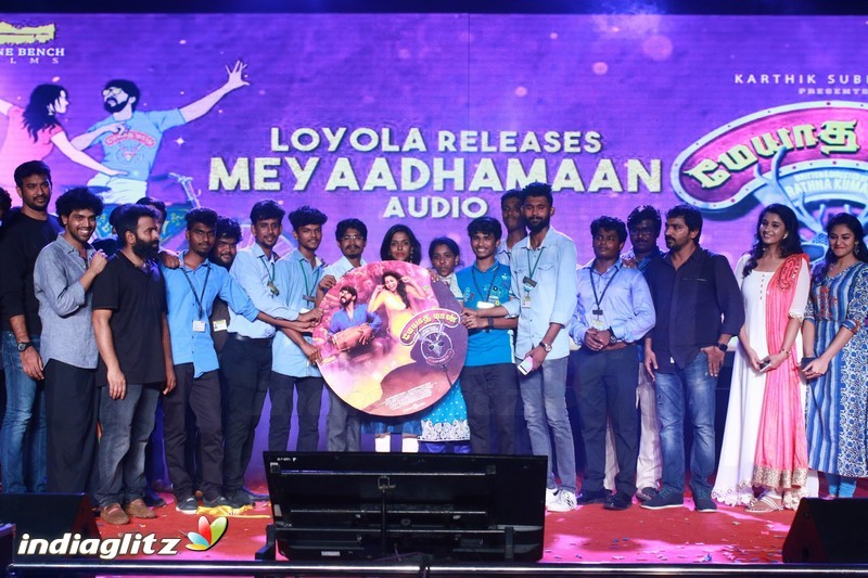 Meyaadha Maan Audio Release at Loyola College