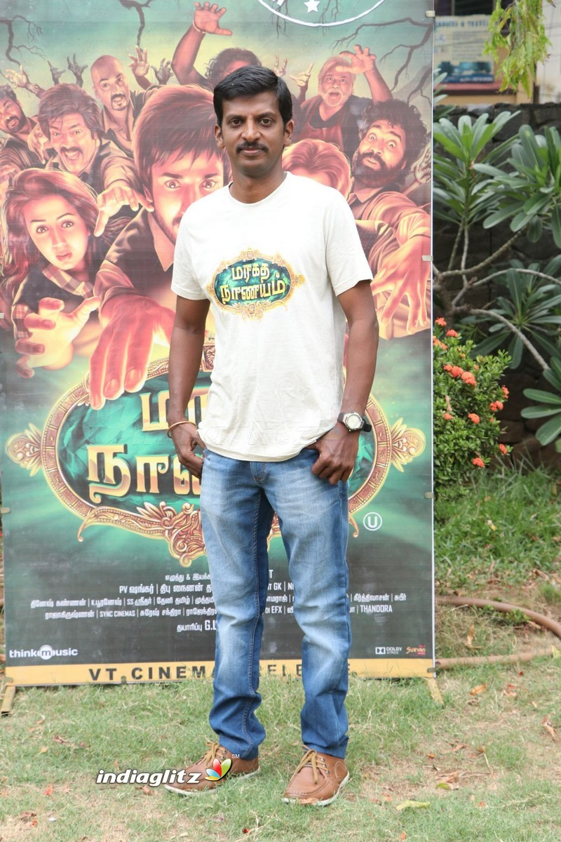 'Maragadha Naanaiyam' Movie Thanks giving meet