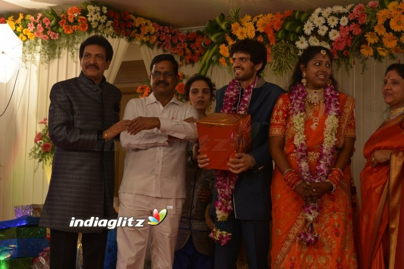 Nizhalgal Ravi Son Wedding Reception