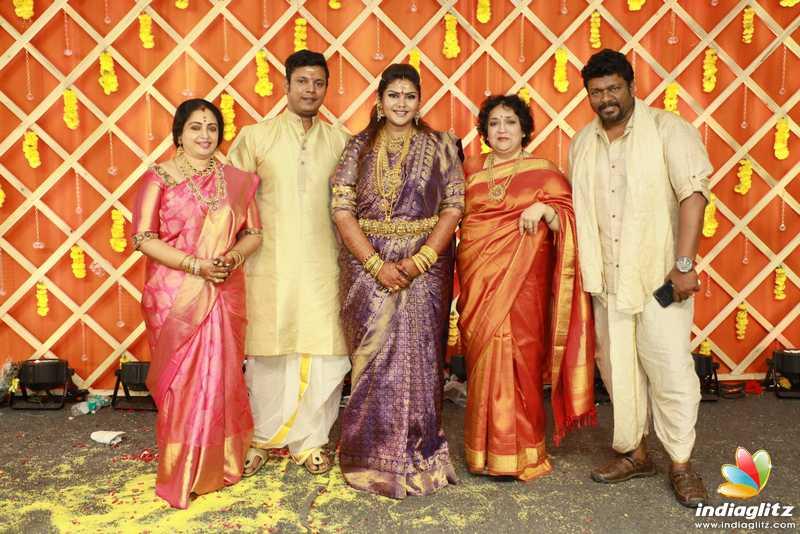Parthipan Seetha Daughter Abhinaya Marriage