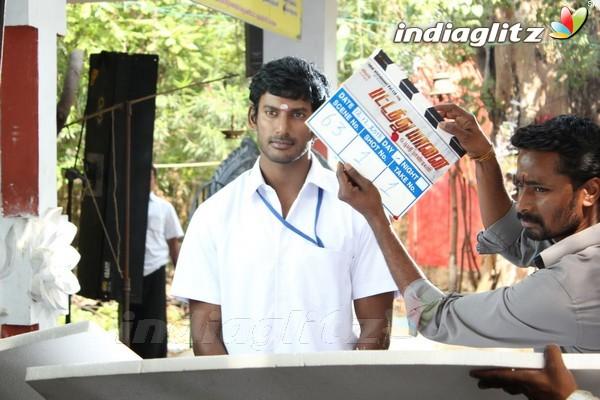 Events - Vishal's 'Pattathu Yaanai' Movie Launch Movie ...  Events - Vishal...