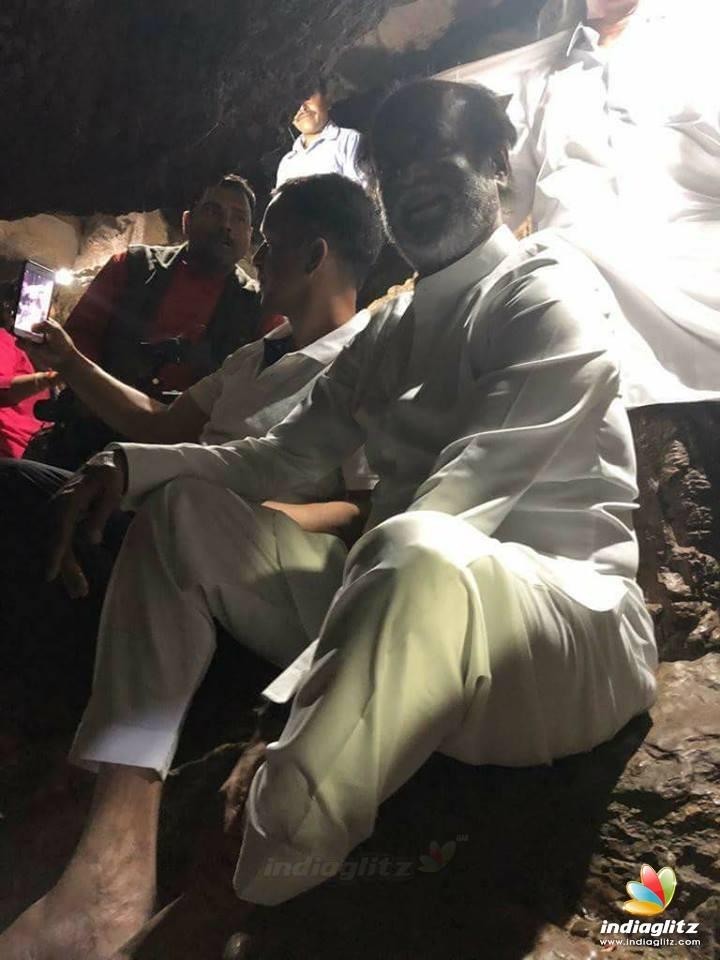 Superstar Rajinikanth at Himalayas