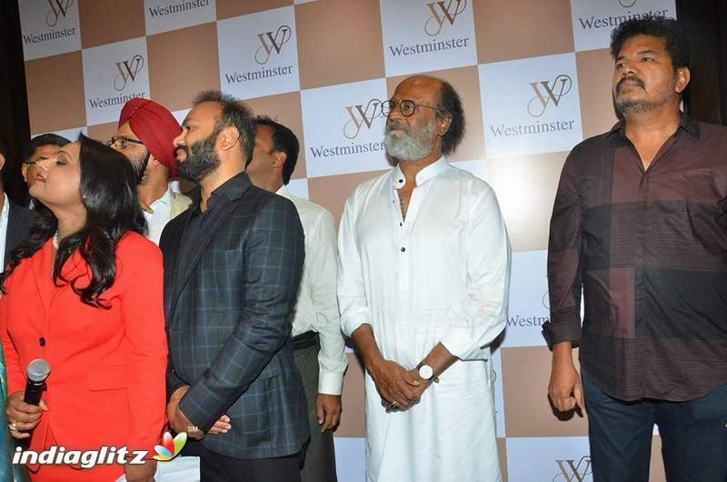 Superstar Rajinikanth Shankar at Lyca's Westminister Hospital inauguration in Nungambakkam