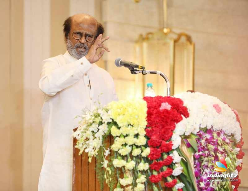 Superstar Rajnikanth Press Meet stills