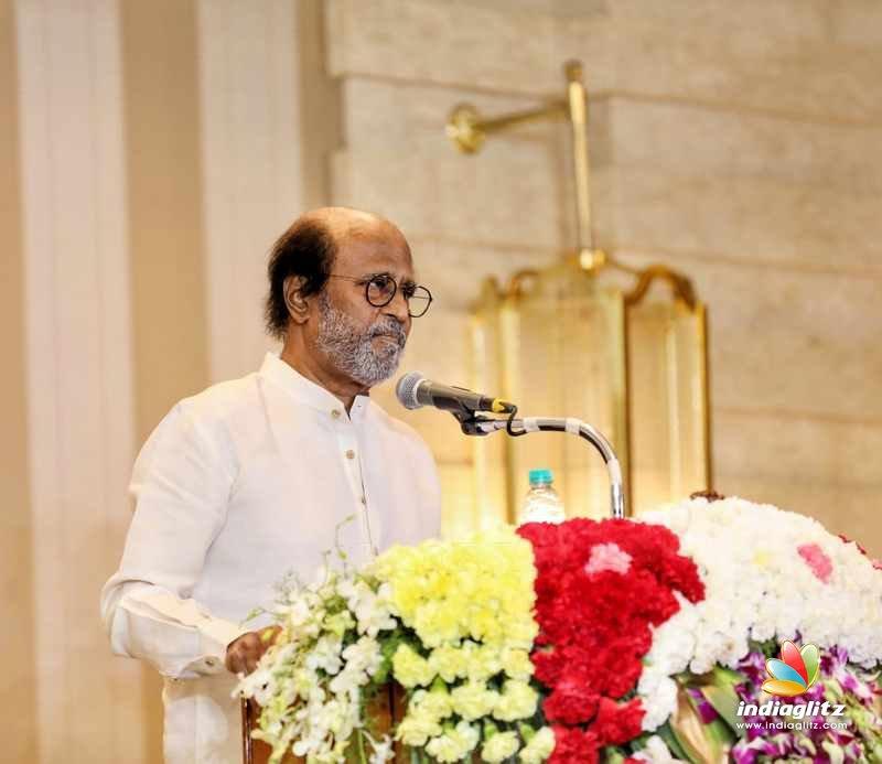 Superstar Rajnikanth Press Meet stills