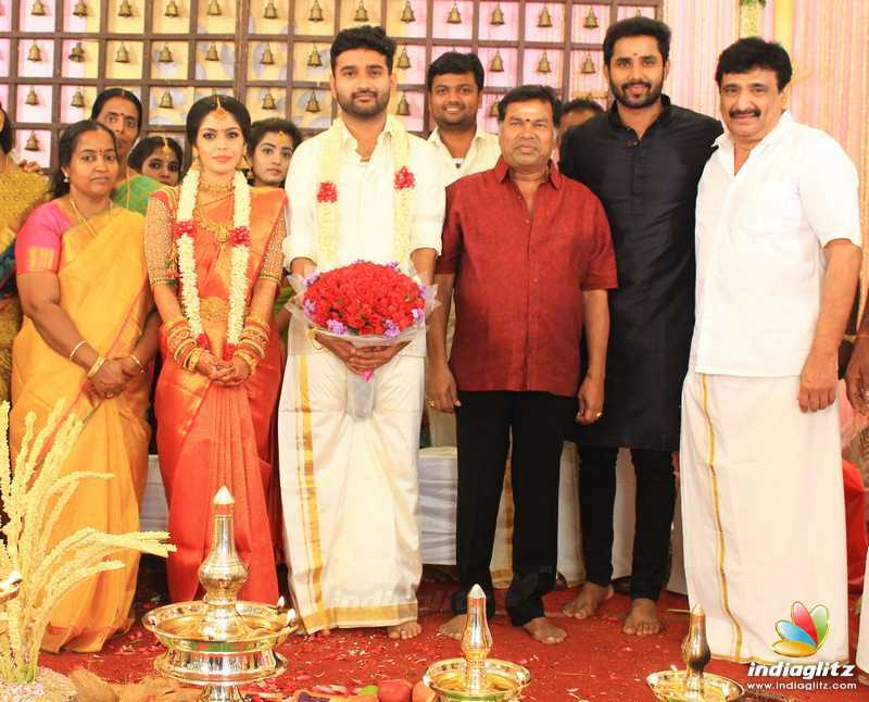 Celebs at Ramesh Kanna's Son Wedding