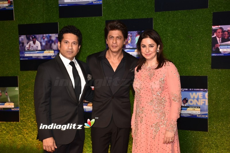 Bollywood Stars Grace The Premiere Of 'Sachin - A Billion Dreams'