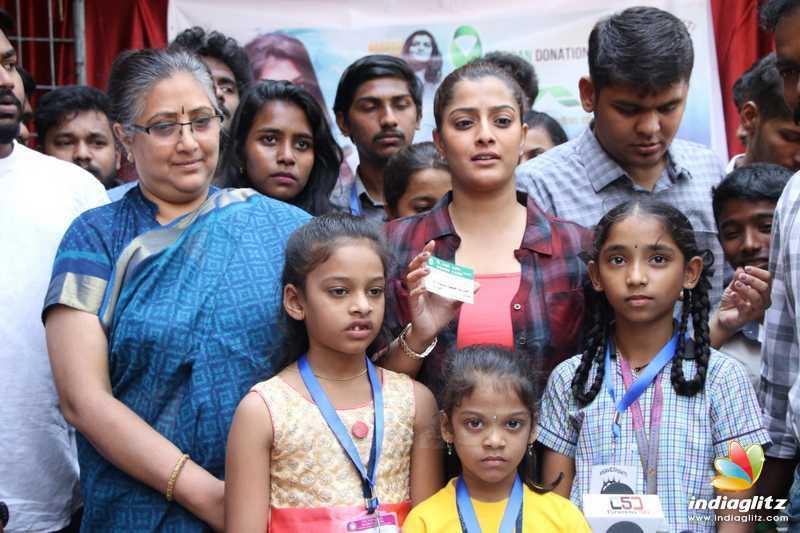 Save Shakthi Volunteers Organ Donations on Varalaxmi's birthday