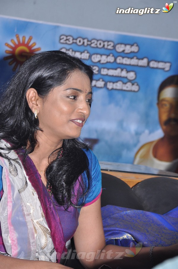 'Vellai Thamarai' Serial Press Meet