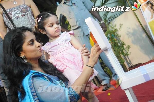 Shalini & Baby Anoushka @ Vannila Kids Place - Tamil Actress