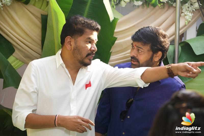 Grand Launch of Director Shankar's #SVC50 #RC15