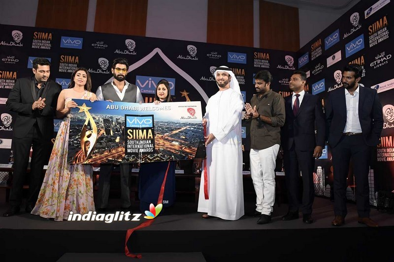 SIIMA 2017 Press Conference at Abu Dhabi