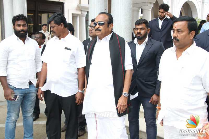 Celebs at Vishagan - Soundarya Wedding