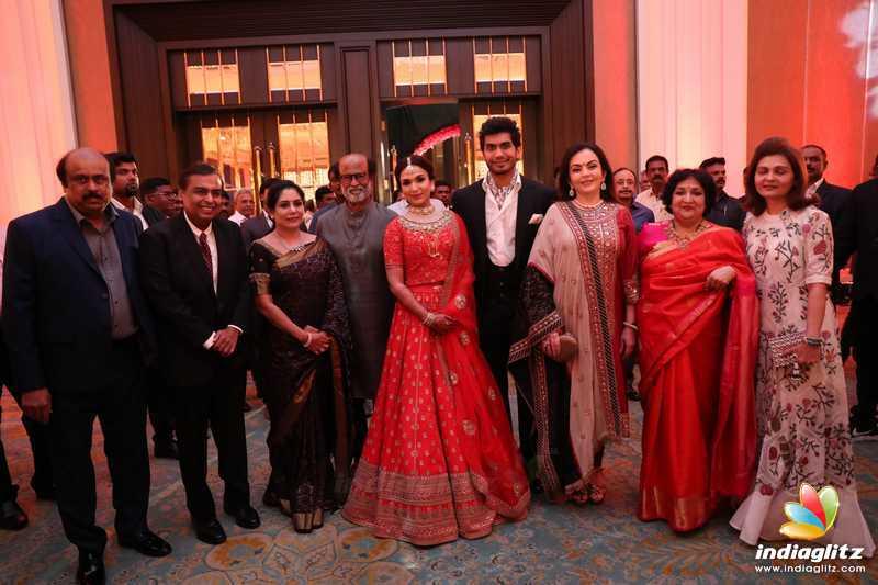 Celebs at Vishagan - Soundarya Wedding Reception
